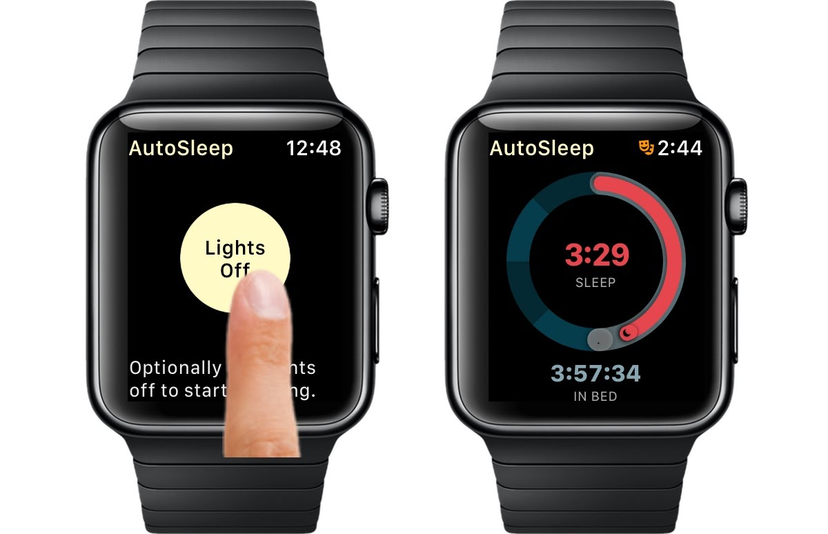 AutoSleep Watch Lights Off