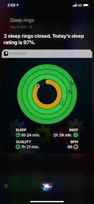 Siri Sleep Rings