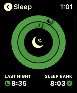 Sleep Watch view