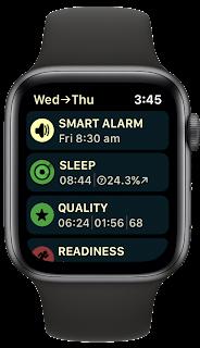 Smart Alarm menu
